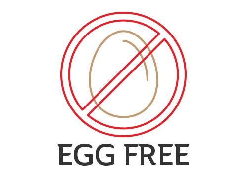 Food Allergy Signage EGG Free