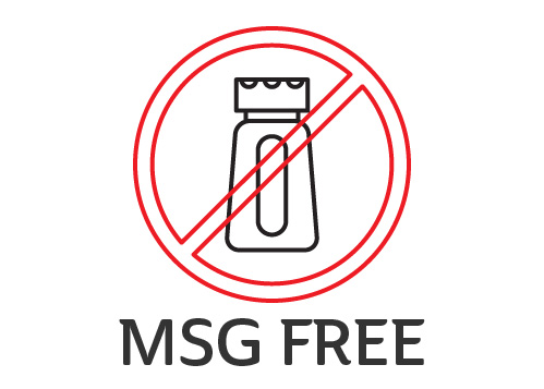 Food Allergy Signage MSG Free