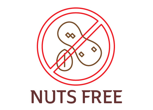 Food Allergy Signage NUTS Free