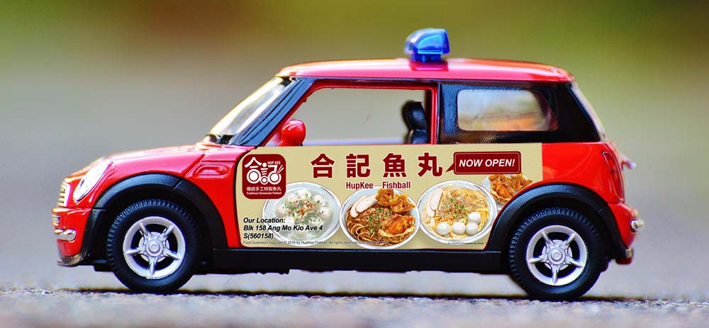Food Truck Signage | Mobile Advertisement
