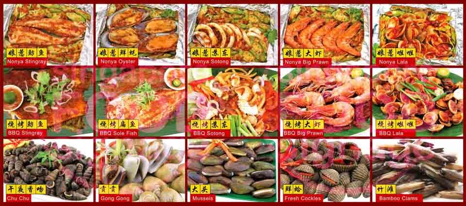 Hawker Food Signage